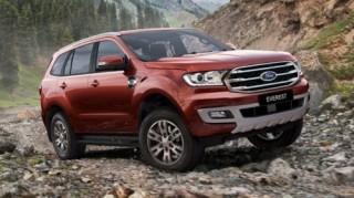 Ford Everest 2019 trang bị phanh khẩn cấp tự động cho tất cả các phiên bản