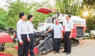 Thúc đẩy cơ giới hóa nông nghiệp