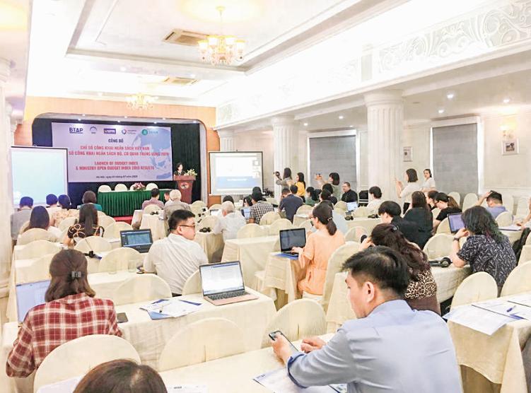 NHNN Việt Nam dẫn đầu chỉ số công khai ngân sách năm 2019