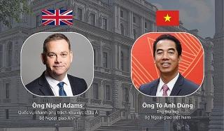 Quốc vụ khanh Bộ Ngoại giao Anh Quốc thăm trực tuyến Việt Nam