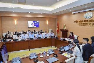 Phó Thống đốc Nguyễn Thị Hồng chủ trì Tọa đàm trực tuyến giữa NHNN Việt Nam và Hội đồng Kinh doanh Hoa Kỳ - ASEAN