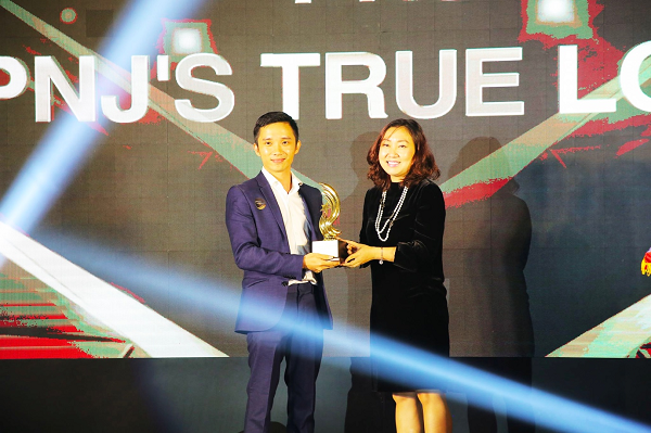 PNJ nhận giải thưởng chiến dịch PR toàn cầu xuất sắc nhất