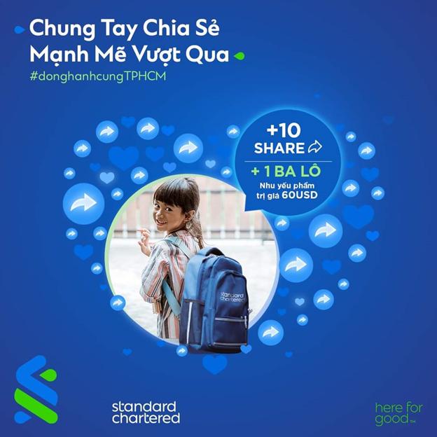 """Standard Chartered triển khai chương trình """"Đồng hành cùng Thành phố Hồ Chí Minh"""""""