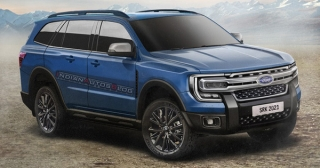 Thêm hình ảnh của Ford Everest 2022 trước khi ra mắt