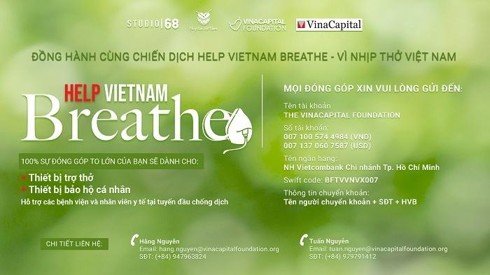 vinacapital foundation trien khai chuong trinh help vietnam breathe vi nhip tho viet nam