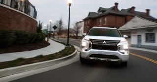 Mitsubishi Outlander bản hybrid sạc điện mới sắp ra mắt thị trường