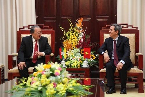 Tạo mọi điều kiện thuận lợi để ngân hàng Việt Nam và Mymanmar hiện diện tại nước kia