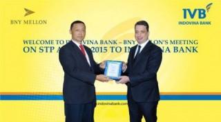 Indovina Bank nhận giải thưởng xuất sắc về thanh toán quốc tế