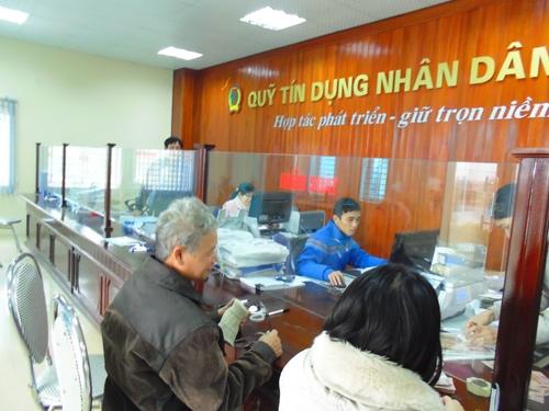 Chấp thuận thành lập một số Quỹ tín dụng nhân dân