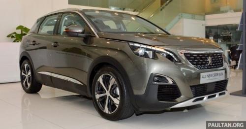 Peugeot 3008 2017 có giá từ 765 triệu đồng