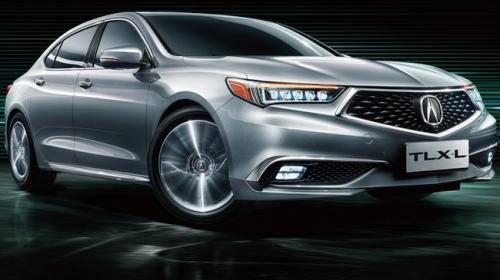 Acura giới thiệu mẫu TLX-L tại thị trường Trung Quốc