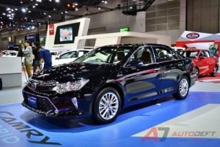 Toyota Camry 2017 bản nâng cấp tại thị trường Thái Lan có gì?