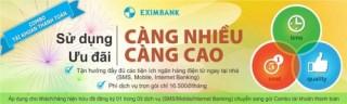Ưu đãi lớn với Combo tài khoản từ Eximbank