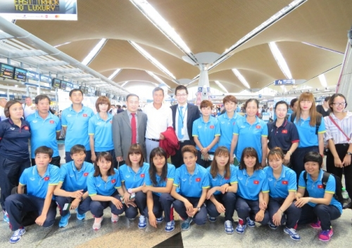 vietnam airlines tang the cho doan the thao sea games 29 cua viet nam