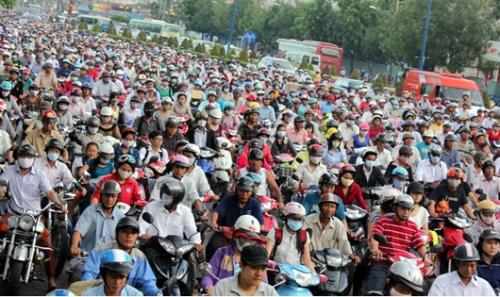Hà Nội: Đến năm 2030, cấm xe máy vào nội đô