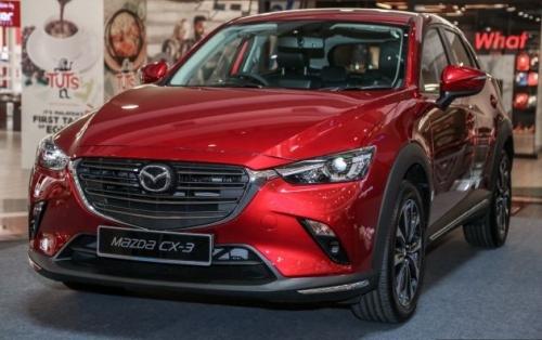 Mazda CX-3 2018 bản nâng cấp có giá khoảng 690 triệu đồng