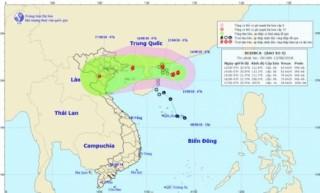 Bắc Bộ cần đề phòng mưa lớn do bão số 4