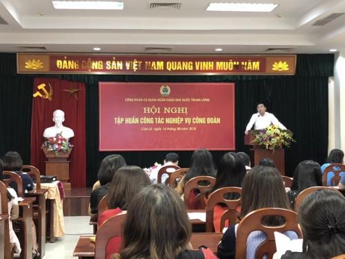 Hội nghị tập huấn nghiệp vụ công tác Công đoàn
