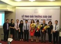 Hiệp hội Bảo hiểm trao giải thưởng báo chí 'Bảo vệ cuộc sống'