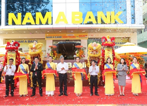 Nam A Bank Ninh Thuận có trụ sở mới