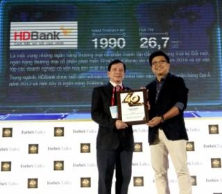 Giá trị thương hiệu HDBank đạt 26,7 triệu USD