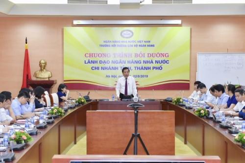 Chương trình bồi dưỡng lãnh đạo NHNN chi nhánh tỉnh, thành phố