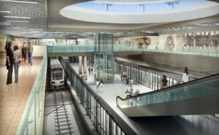 Chọn ý tưởng thiết kế không gian ngầm nhà ga Bến Thành