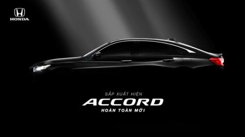 Sắp ra mắt Honda Accord thế hệ thứ 10