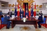 Ký Bản ghi nhớ về Phát triển khu vực tài chính và Tài chính toàn diện giữa NHNN với Chính phủ Úc và ADB