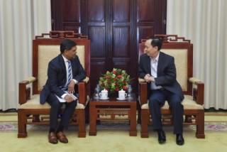 Phó Thống đốc Đào Minh Tú làm việc với Giám đốc điều hành SEACEN