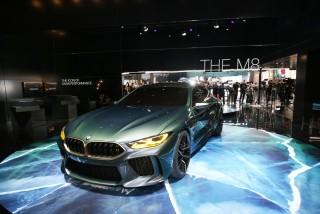 BMW dự kiến ra mắt M8 Gran Coupé tại triển lãm Los Angeles vào tháng 11