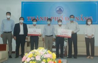 BRG và SeABank ủng hộ 1 tỷ đồng và 20 ngàn khẩu trang cho Đà Nẵng