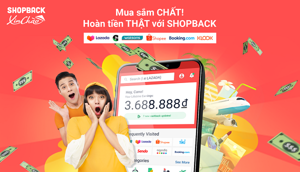 ShopBack chính thức ra mắt tại Việt Nam