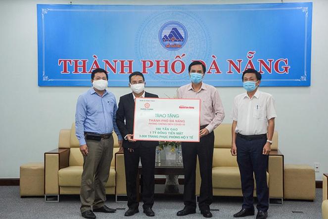 Tập đoàn Hưng Thịnh tiếp sức TP. Đà Nẵng và tỉnh Quảng Nam