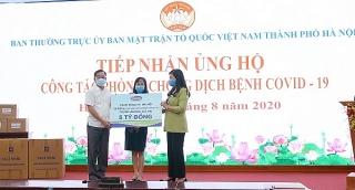 Vinamilk tiếp tục hỗ trợ 8 tỷ đồng cho Hà Nội, Đà Nẵng, Quảng Nam và Quảng Ngãi