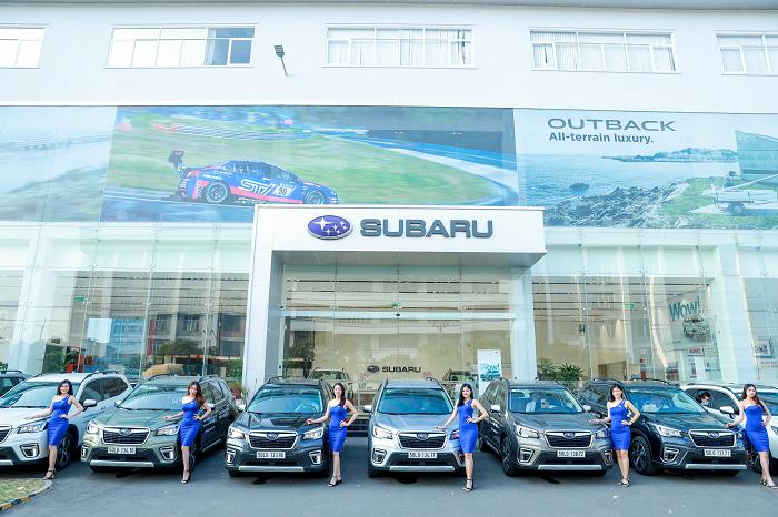 Subaru Việt Nam công bố chương trình ưu đãi đặc biệt