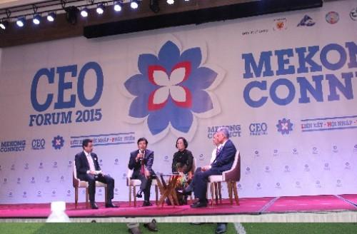 Khai mạc Diễn đàn Mekong Connect – CEO Forum 2015