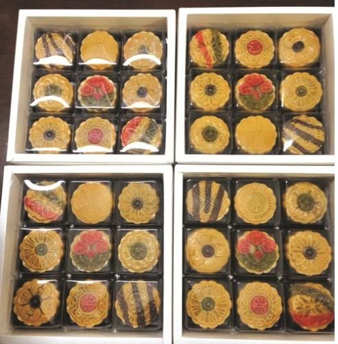Bánh Trung thu handmade lên ngôi