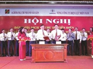 Hợp tác toàn diện Agribank Sài Gòn và EVN SPC: Nâng tầm cao mới