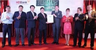 """HDBank nhận giải thưởng """"Doanh nghiệp quản lý tốt nhất"""""""