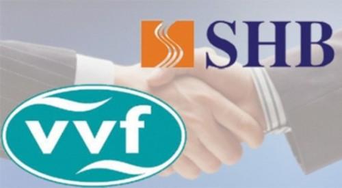 Chấp thuận sáp nhập VVF vào ngân hàng SHB