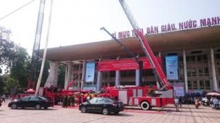 Triển lãm quốc tế có quy mô lớn về phòng cháy chữa cháy, cứu nạn cứu hộ