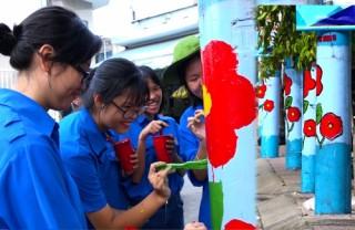 Khi cột điện… nở hoa