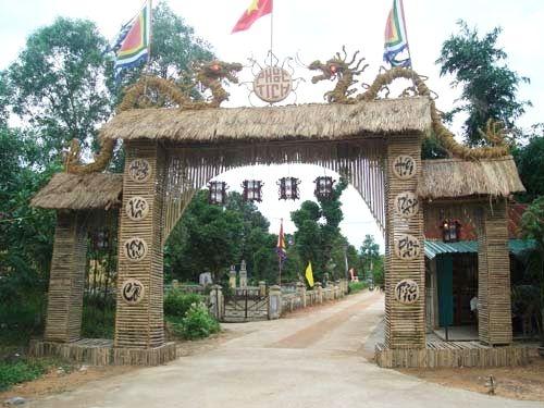 Độc đáo làng cổ Phước Tích