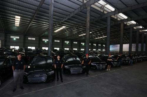 Audi Việt Nam bàn giao tiếp 258 xe phục vụ APEC 2017