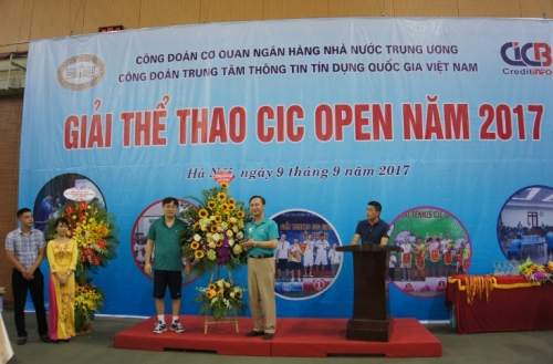 Giải thể thao CIC OPEN 2017