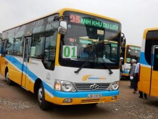 Vận động người dân đi xe buýt trợ giá