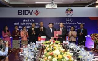 BIDV và Ngân hàng Ngoại thương Lào ký Thỏa thuận Hợp tác toàn diện