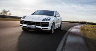 Porsche Cayenne Turbo 2018 có giá 8,92 tỷ đồng