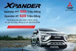 Mitsubishi Xpander bản tự động giá chỉ còn 620 triệu đồng